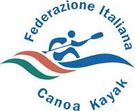 sito web Federazione Italiana Canoa Kayak